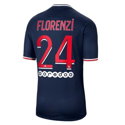 MAILLOT PSG DOMICILE FLORENZI 2020-2021
