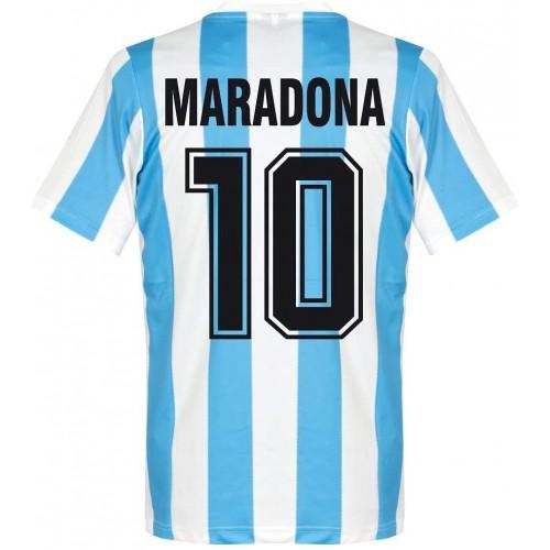 MAILLOT ARGENTINE MARADONA 1986