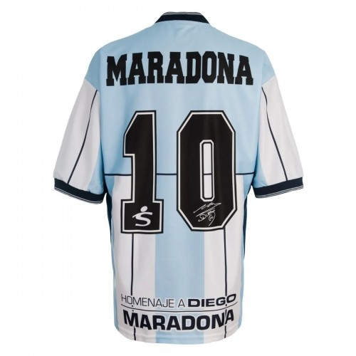 MAILLOT ARGENTINE RETRO HOMMAGE MARADONA 2001