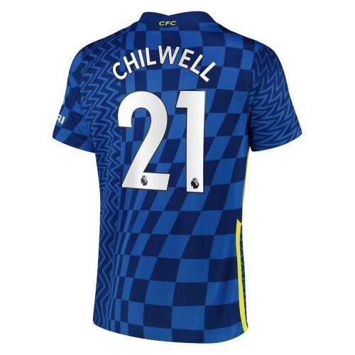 MAILLOT CHELSEA DOMICILE CHILWELL 2021-2022