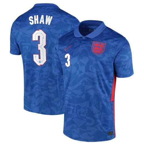 MAILLOT ANGLETERRE EXTERIEUR SHAW 2020-2021