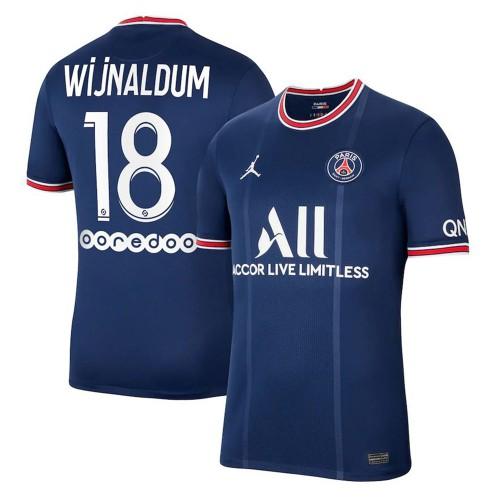 MAILLOT PSG DOMICILE WIJNALDUM 2021-2022