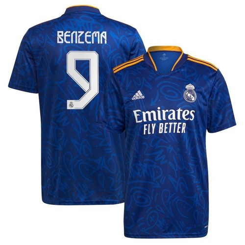 MAILLOT REAL MADRID EXTERIEUR BENZEMA 2021-2022