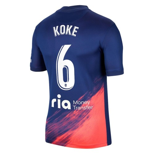 MAILLOT ATLETICO MADRID EXTERIEUR KOKE 2021-2022