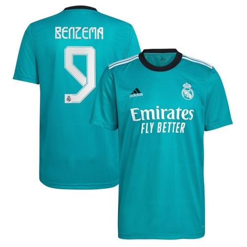 MAILLOT REAL MADRID THIRD BENZEMA 2021-2022