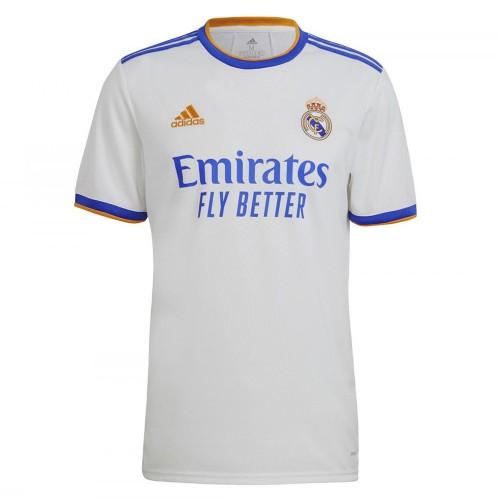 PACK REAL MADRID DOMICILE. ENSEMBLE ADULTE MAILLOT ET SHORT 2021-2022